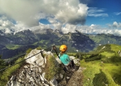 Via ferrata in Engelberg
