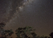 The night sky at Karijini NP
