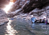 Canyoning in Karijini NP