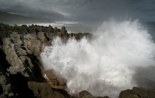 Punakaiki - Pancake rocks and blowholes